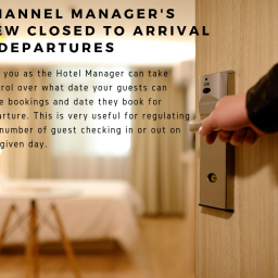 Channel Manager new Closed to arrival & departure 1