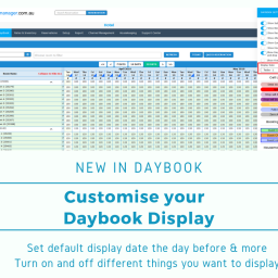 Daybook Display